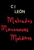 """Cubierta del libro """"Malvados Monstruos Malditos"""""""