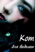 """Обложка книги """"Кот для ведьмы"""""""