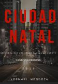 """Cubierta del libro """"Ciudad Natal"""""""