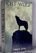"""Cubierta del libro """"Cry Wolf """""""