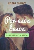 """Cubierta del libro """"Por esos besos de chocolate y menta"""""""
