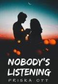 """Cubierta del libro """"Nobody's listening"""""""