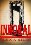 """Cubierta del libro """"Inmoral"""""""