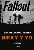 """Cubierta del libro """"Leyendas del Yermo - Nikky y yo"""""""