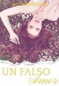 """Cubierta del libro """"Un Falso Amor"""""""
