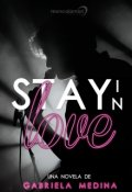 "Cubierta del libro ""Stay In Love"""