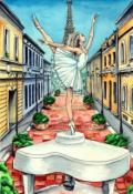 "Обложка книги ""Балерина, танцующая на рояле."""