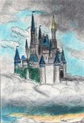 """Обложка книги """"Замок на облаке"""""""