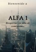 """Cubierta del libro """"Alfa 01"""""""