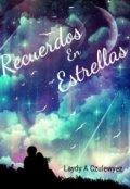 """Cubierta del libro """"Recuerdos En Estrellas"""""""