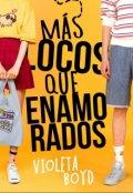 """Cubierta del libro """"Más locos que enamorados"""""""