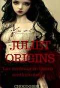 """Cubierta del libro """"Juliette origins"""""""