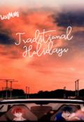"""Cubierta del libro """"Traditional Holidays"""""""