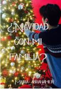 """Cubierta del libro """"¿navidad con mi familia?"""""""