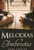 """Cubierta del libro """"Melodías y Ambrosías [saga Poesías 2]"""""""