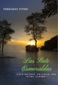 """Cubierta del libro """"Las Siete Esmeraldas"""""""