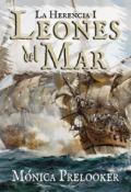 """Cubierta del libro """"Leones del Mar"""""""