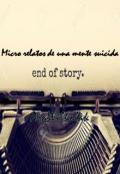 """Cubierta del libro """"Micro relatos de una mente suicida"""""""