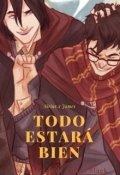 """Cubierta del libro """"Sirius x James - Todo Estará Bien"""""""