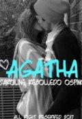 """Cubierta del libro """"Agatha y los desquiciados"""""""