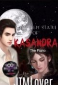 "Book cover ""The Creepy Statue of Kasandra 'the Piano'"""