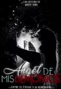 """Cubierta del libro """"Angel de mis demonios """""""