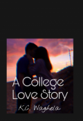 "Book cover ""A College Love Story"""