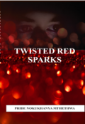 "Book cover ""Twisted Red Sparks"""