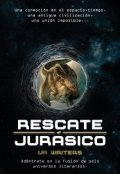 """Cubierta del libro """"Rescate Jurásico"""""""