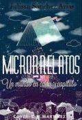 """Cubierta del libro """"Microrrelatos"""""""