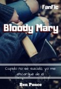 """Cubierta del libro """"Bloody Mary"""""""