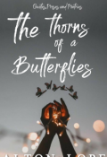 "Book cover ""the thorns of a butterflies"""