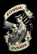 """Cubierta del libro """"El Chico Y La Zombie"""""""