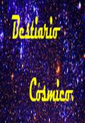 """Cubierta del libro """"Bestiario cósmico."""""""