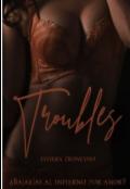 """Cubierta del libro """"Troubles"""""""