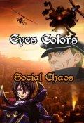 """Cubierta del libro """"Eyes Colors (tomo 6) """"Social Chaos"""""""""""
