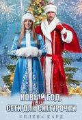 """Обложка книги """"Новый год, или Сети для Снегурочки"""""""