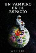 """Cubierta del libro """"Un Vampiro en el espacio"""""""