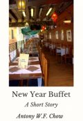 "Book cover ""New Year Buffet"""