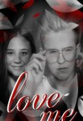 "Обложка книги ""Love me"""