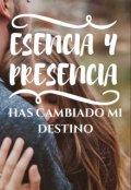 """Cubierta del libro """"Esencia Y Presencia"""""""