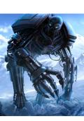 """Обложка книги """"Титановый Воин """""""