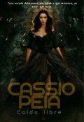 """Cubierta del libro """"Cassiopeia caída libre"""""""