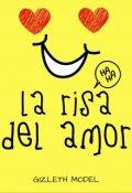 """Cubierta del libro """"La risa del amor ©"""""""