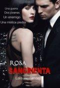 """Cubierta del libro """"Rosa Sangrienta"""""""