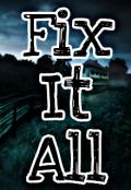 """Обложка книги """"Fix It All """""""