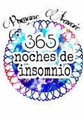 """Cubierta del libro """"365 noches de insomnio"""""""