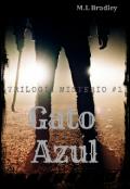 "Cubierta del libro ""1 Misterio del Gato Azul"""