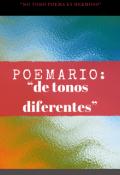 """Cubierta del libro """"Poemario: """"de tonos diferentes"""""""""""