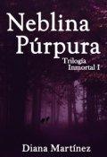 "Cubierta del libro ""Neblina Púrpura"""